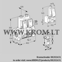Double solenoid valve VCS9125F05NNAR3E/PPEP/3-B- (88202631)