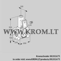 Gas solenoid valve VAS8100F05NW3E/PP/PP (88202675)
