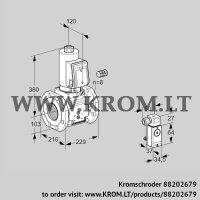 Gas solenoid valve VAS8100F05NWSR3B/3-/PP (88202679)