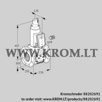 Gas solenoid valve VAS8100F05LW3E/PP/PP (88202691)