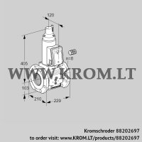 Gas solenoid valve VAS8100F05LW3B/PP/PP (88202697)