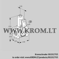 Gas solenoid valve VAS8100F05NQ3E/PP/PP (88202703)