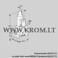 Gas solenoid valve VAS8100F05LQ3B/PP/PP (88202721)