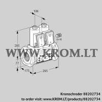 Double solenoid valve VCS665F05NNWR3E/PPPP/PPPP (88202734)