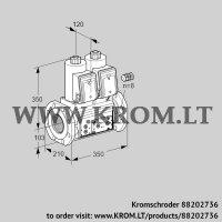 Double solenoid valve VCS8100F05NNWR3E/PPPP/PPPP (88202736)