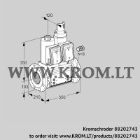 Double solenoid valve VCS8100F05NLWR3B/PPPP/PPPP (88202743)