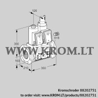 Double solenoid valve VCS8100F05NLWR3E/PPPP/PPPP (88202751)