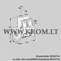 Double solenoid valve VCS665F05NNQR3E/PPPP/PPPP (88202761)