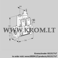 Double solenoid valve VCS665F05NLQR3B/PPPP/PPPP (88202767)