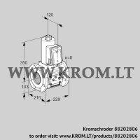Gas solenoid valve VAS8T100A05NQE/PP/PP (88202806)