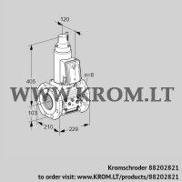 Gas solenoid valve VAS8T100A05LQE/PP/PP (88202821)