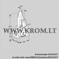 Gas solenoid valve VAS8T100A05LQB/PP/PP (88202827)