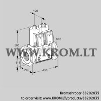 Double solenoid valve VCS9T125A05NNARB/PPPP/PPPP (88202835)