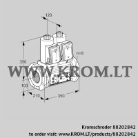 Double solenoid valve VCS8T100A05NNQRE/PPPP/PPPP (88202842)
