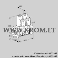 Double solenoid valve VCS9T125A05NNARE/PPPP/PPPP (88202843)