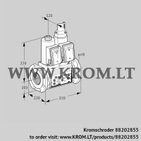 Double solenoid valve VCS8T100A05NLQRE/PPPP/PPPP (88202855)