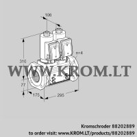 Double solenoid valve VCS6T65A05NNQSRB/MMMM/PPPP (88202889)