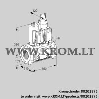 Double solenoid valve VCS8T100A05NLQSRB/MMMM/PPPP (88202895)