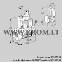 Double solenoid valve VCS665F05NLWR3E/PPEP/PPB- (88202943)