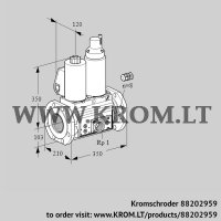 Double solenoid valve VCS8100F05NLWL3E/PPEP/PPPP (88202959)