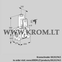 Gas solenoid valve VAS8100F05NWGRB/PP/PP (88202963)