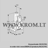 Gas solenoid valve VAS8100F05NK3B/PP/PP (88202981)