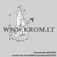 Gas solenoid valve VAS8100F05LWB/PP/PP (88203003)