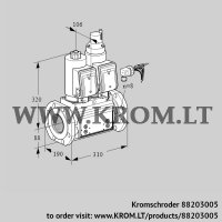 Double solenoid valve VCS780F05NLKGRB/PPPP/PPPP (88203005)