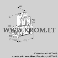 Double solenoid valve VCS8100F05NNKGR3B/PPPP/PPPP (88203022)