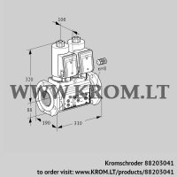 Double solenoid valve VCS780F05NNKGR3E/PPPP/PPPP (88203041)