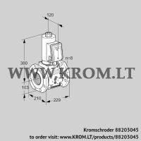 Gas solenoid valve VAS8T100A05NQSRB/PP/PP (88203045)