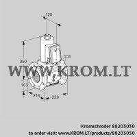Gas solenoid valve VAS8T100A05NKB/PP/PP (88203050)