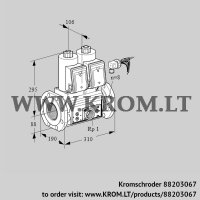 Double solenoid valve VCS780F05NNWRE/PPEP/PPPP (88203067)