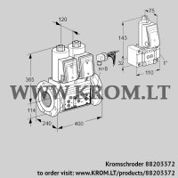 Double solenoid valve VCS9125F05NNARE/PPPP/PPZ- (88203372)