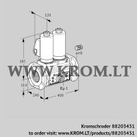 Double solenoid valve VCS9125F05NNASL3E/PPEP/PPPP (88203431)