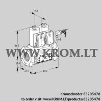 Double solenoid valve VCS9125F05NNARE/PPPP/PPPP (88203478)