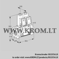 Double solenoid valve VCS9T125A05NNASRB/PPMM/PPMM (88203618)