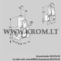 Gas solenoid valve VAS9125F05NA3E/B-/PP (88203638)