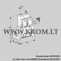 Double solenoid valve VCS9125F05NNASRE/PPPP/PPPP (88203885)