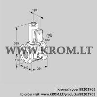 Gas solenoid valve VAS9125F05NASR3B/PP/PP (88203905)