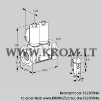 Double solenoid valve VCS9T125A05NNAGLB/PPPP/2-P4 (88203946)