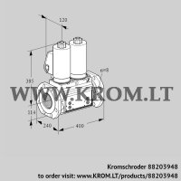 Double solenoid valve VCS9T125A05NNAGLB/PPPP/PPPP (88203948)