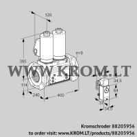 Double solenoid valve VCS9T125A05NNAGLB/PPPP/2-P4 (88203956)