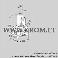 Gas solenoid valve VAS9125F05NAGR3E/PP/PP (88205011)