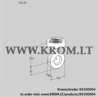 Butterfly valve BVGF80Z05 (88300004)