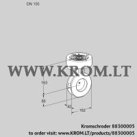 Butterfly valve BVGF100Z05 (88300005)