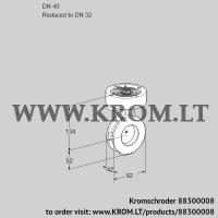 Butterfly valve BVGF40/32Z05 (88300008)