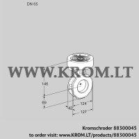Butterfly valve BVGF65W05 (88300045)