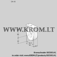 Butterfly valve BVG40W05 (88300141)