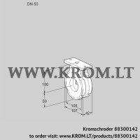 Butterfly valve BVG50W05 (88300142)